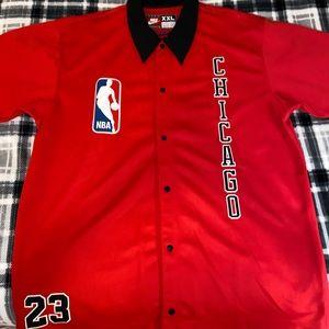 Chicago Bulls Micheal Jordan Warm-Up Jersey